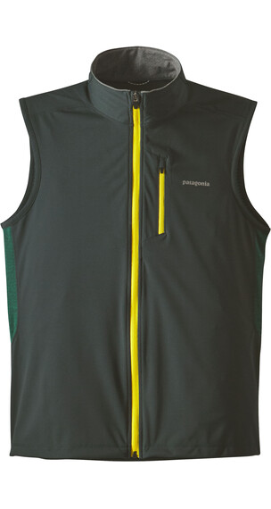 Patagonia M's Wind Shield Hybrid Softshell Vest Carbon